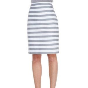 Kate Spade Marit striped pencil skirt